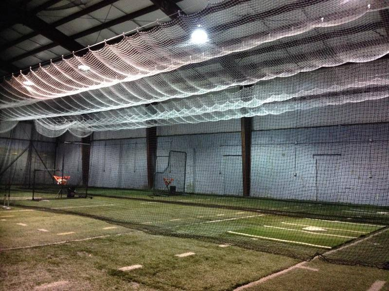 Indoor baseball facility design artificial turf for Design indoor baseball facility