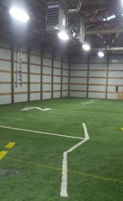 Indoor Baseball Facility Design Artificial Turf